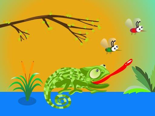 Jogo Hungry Chameleon