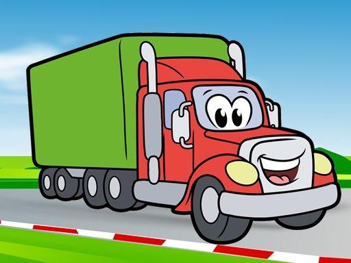 Jogo Happy Trucks Coloring