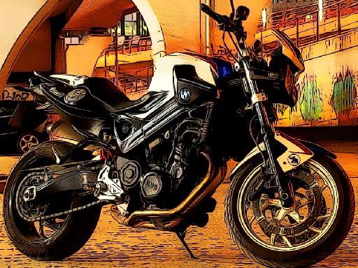 Jogo Fast Motorbikes Jigsaw