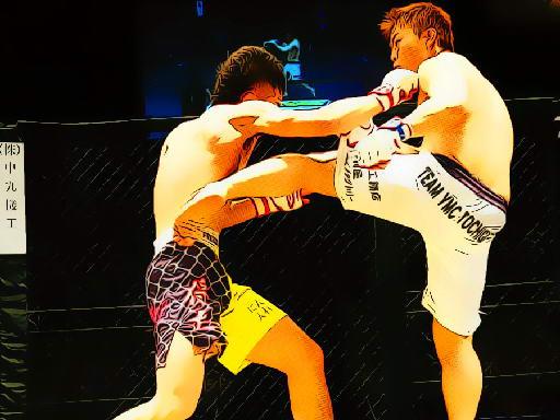 Jogo UFC Fighting Match Jigsaw
