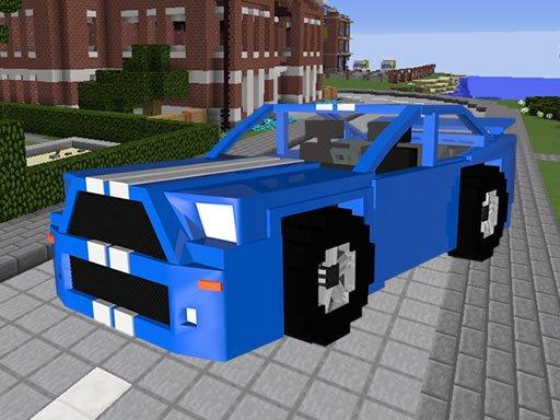 Jogo Minecraft Cars Hidden Keys