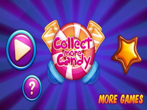 Jogo Collect More Candy