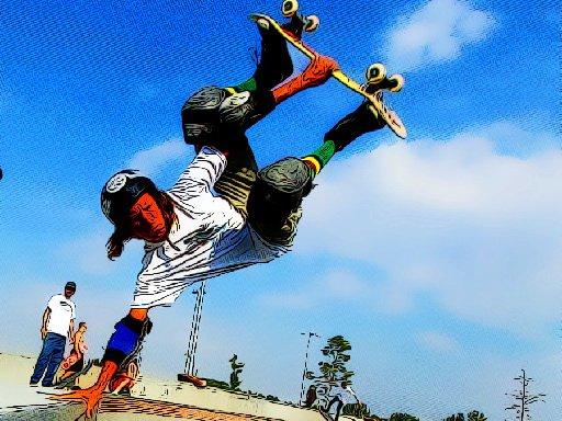 Jogo Free Style Skateboarders
