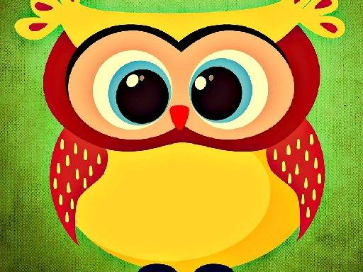 Jogo Funny Owls Jigsaw