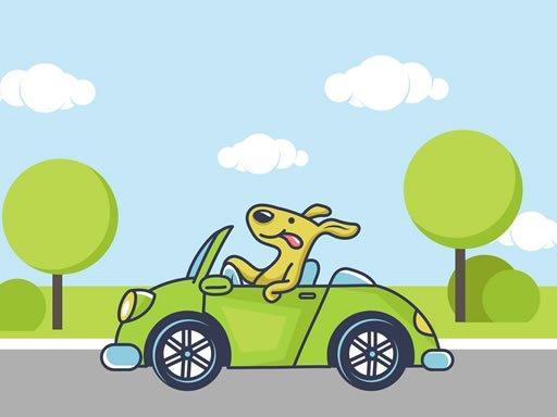 Jogo Animal Happy Drive Coloring
