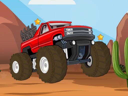 Jogo Monster Truck Hidden Stars