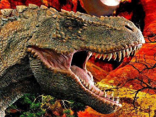Jogo T-Rex Dinosaur Jigsaw