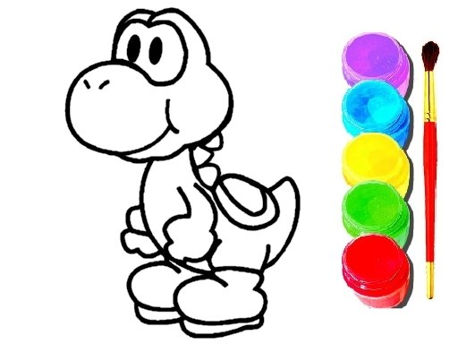 Jogo Mario Coloring Book
