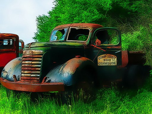 Jogo Old Rusted Trucks