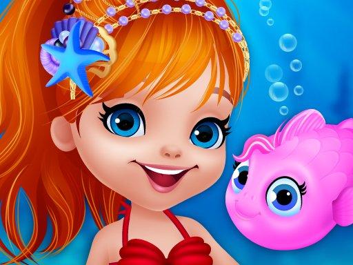 Jogo Cute Mermaid Dress Up