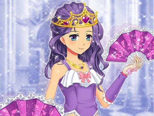 Jogo Anime Princess Dress Up