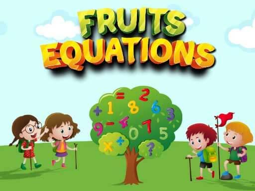 Jogo Fruits Equations