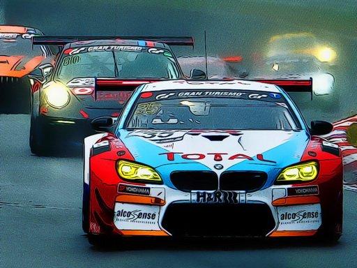 Jogo Racing Cars Puzzle