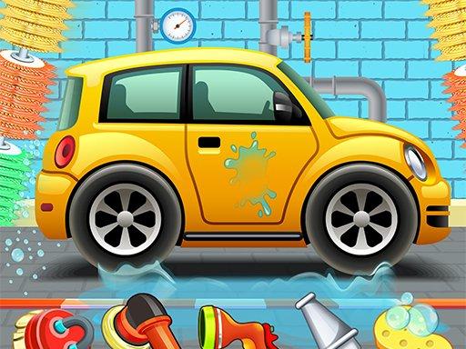 Jogo Kids Car Wash Service Auto Workshop Garage