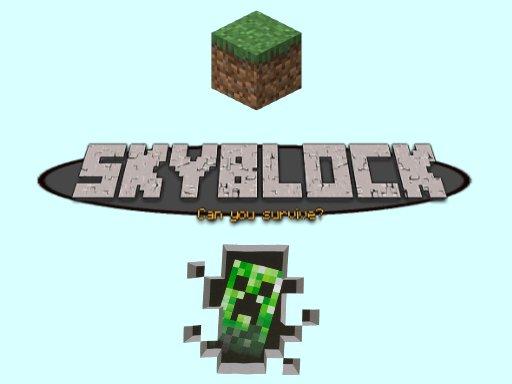 Jogo Minecraft – SkyBlock