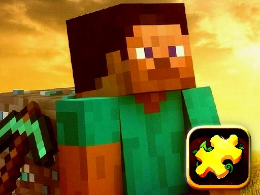 Jogo Minecraft Puzzle Time