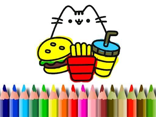 Jogo BTS Cute Cats Coloring
