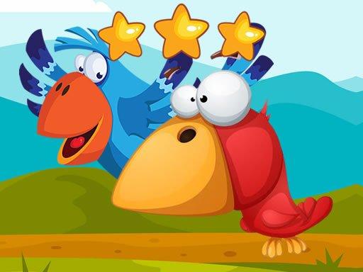 Jogo Fun Birds Hidden Stars