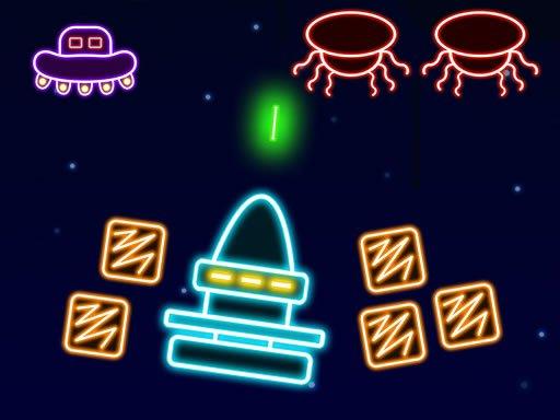 Jogo Neon Invaders