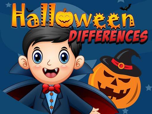 Jogo Halloween Differences