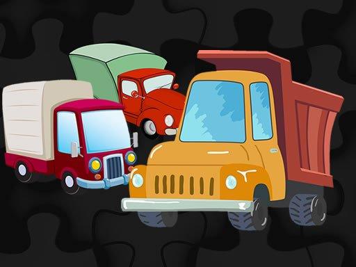 Jogo Cartoon Truck Jigsaw
