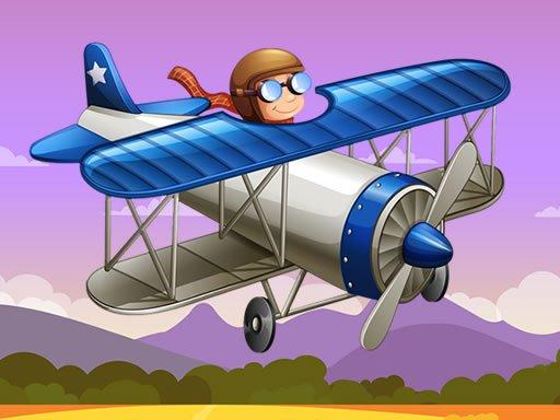 Jogo Fun Airplanes Jigsaw