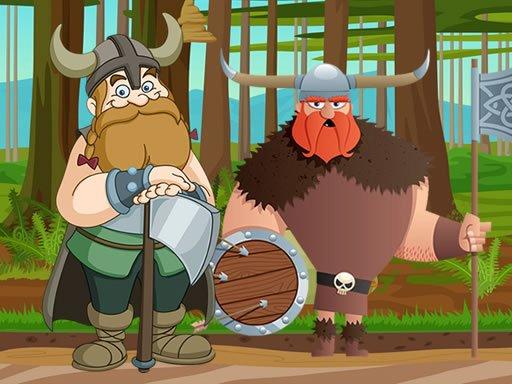 Jogo Medieval Vikings Jigsaw
