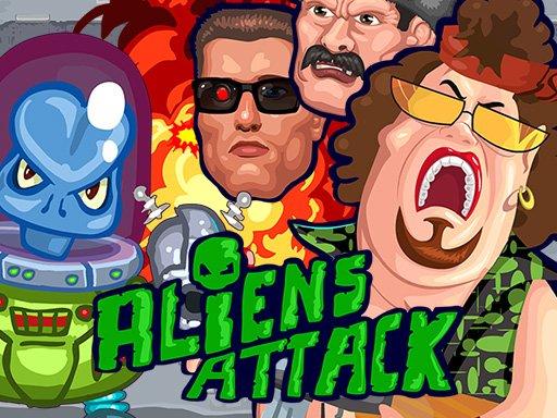Jogo Aliens Attack