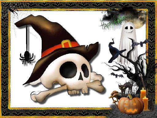 Jogo Halloween Puzzle Challenge
