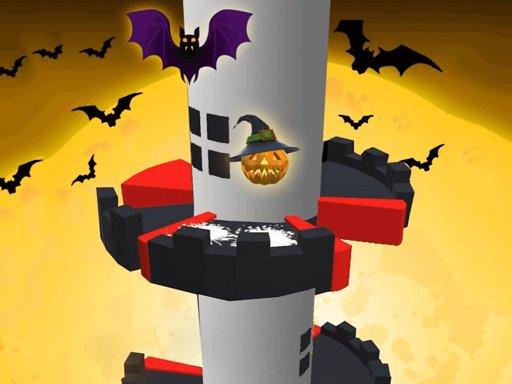 Jogo Helix Jump Halloween