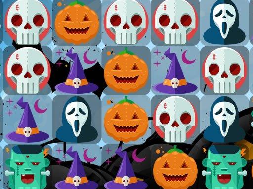 Jogo Scary Halloween Match 3