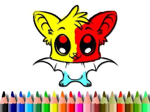 Jogo Cute Bat Coloring Book