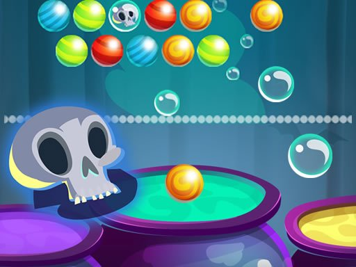 Jogo Bubble Shooter Halloween