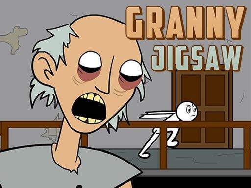 Jogo Granny Jigsaw