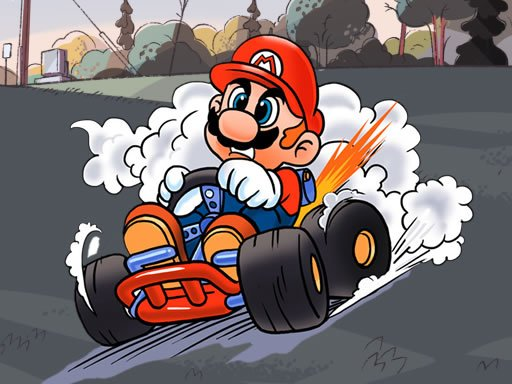 Jogo Mario Kart Jigsaw