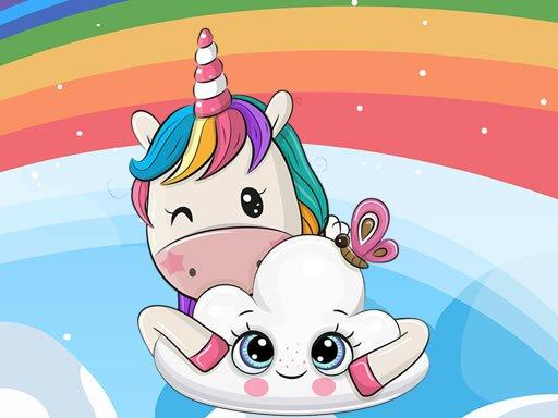 Jogo Cute Unicorn Jigsaw