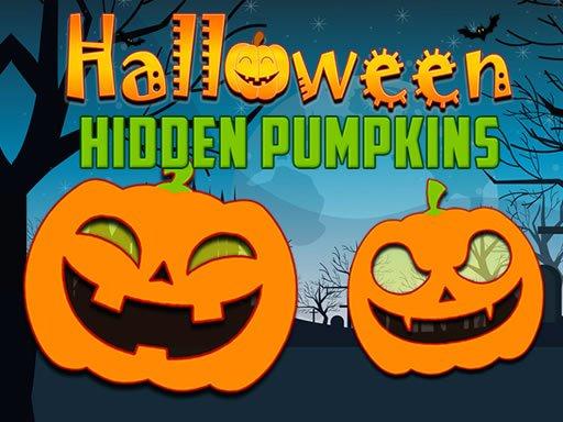 Jogo Halloween Hidden Pumpkins
