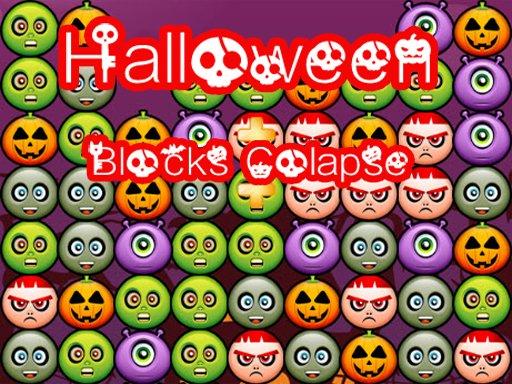 Jogo Halloween Block Collapse Delux