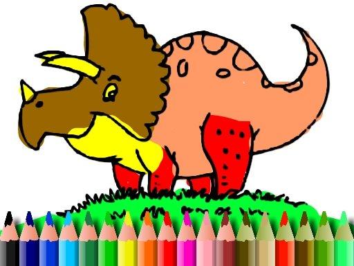 Jogo BTS Dinosaur Coloring Book