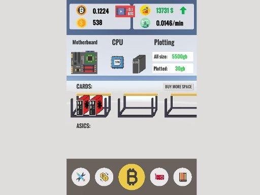 Jogo Bitcoin Clicker