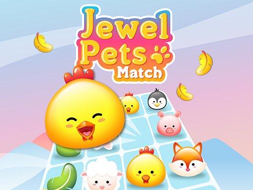 Jogo Jewel Pets Match