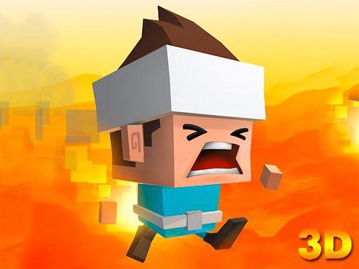 Jogo O Chão é Lava 3D
