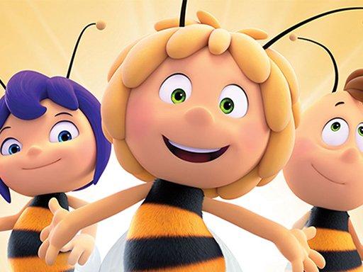 Jogo Maja the Bee Puzzle