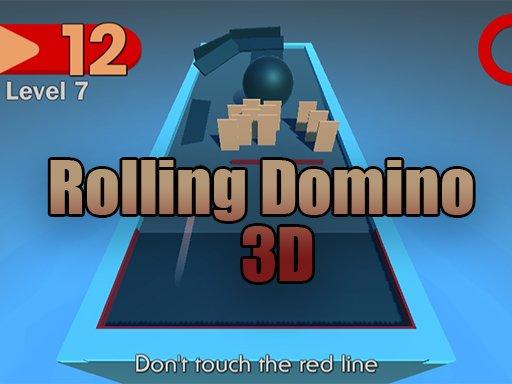 Jogo Rolling Domino 3D