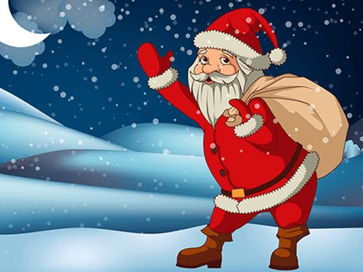 Jogo Santa Claus Gift Bag Jigsaw