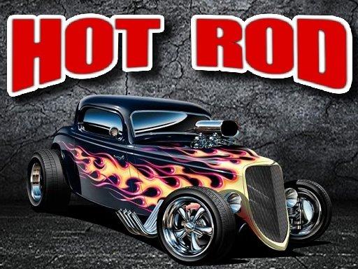Jogo Hot Rod Jigsaw Puzzle