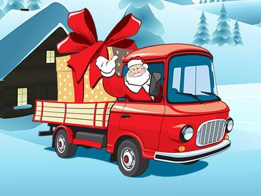 Jogo Christmas Vehicles Jigsaw