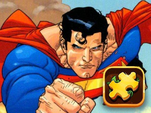 Jogo Superman Hero Jigsaw Challenge