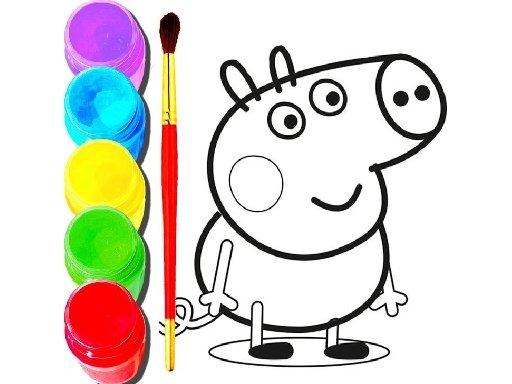 Jogo BTS Peppa Pig Coloring