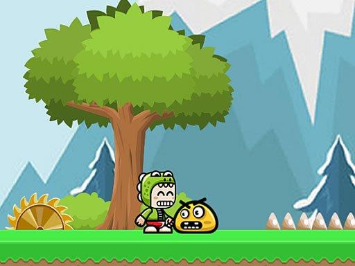 Jogo Adventure Of Green Kid